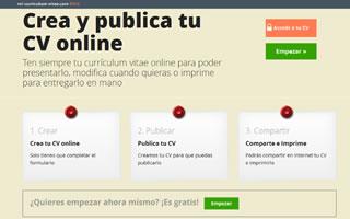 Ten tu currículum online a un solo click