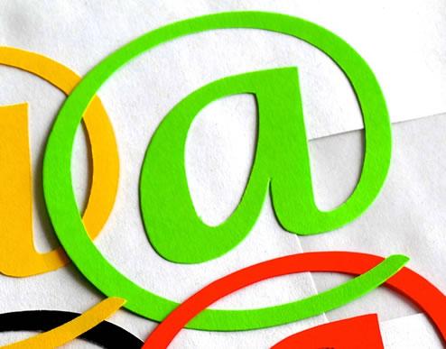 Email dentro en curriculum