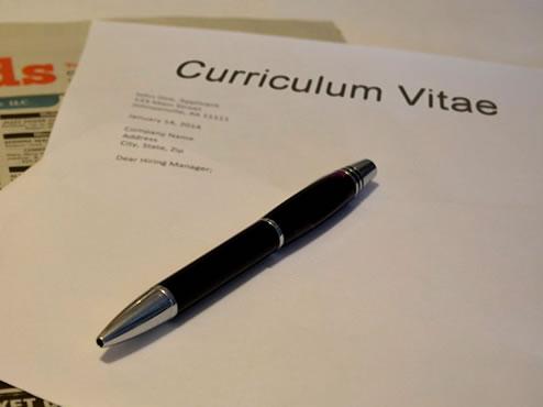 curriculum sin experiencia