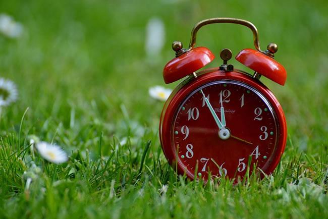 tiempo horario