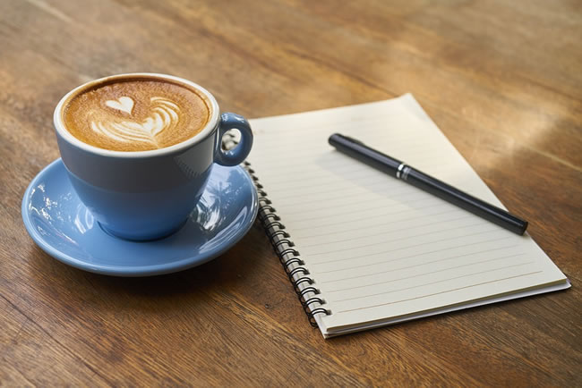 cafe en el trabajo