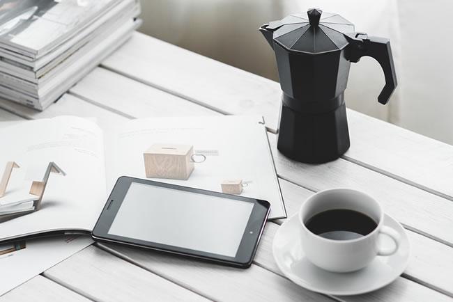 pausa para cafe