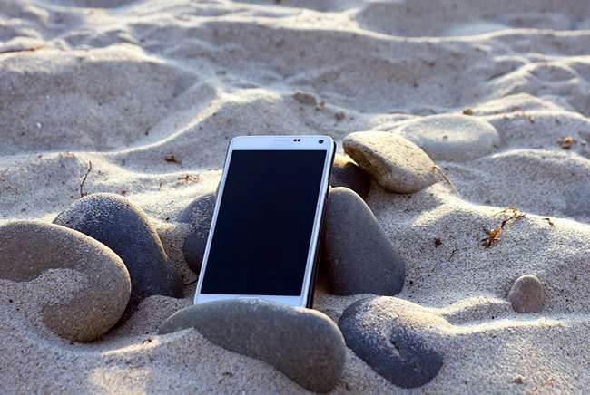 celular perdido playa