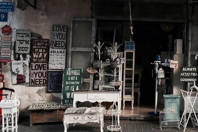 Una venta de muebles usados que vende por internet