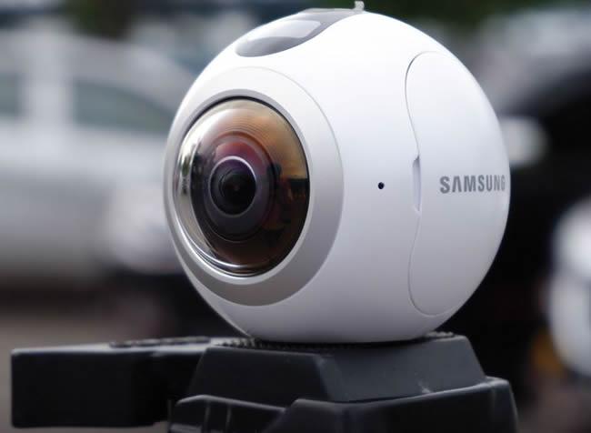 Una cámara 360 para hacer tours virtuales
