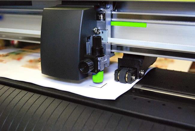 Máquina de corte vinilo tipo plotter