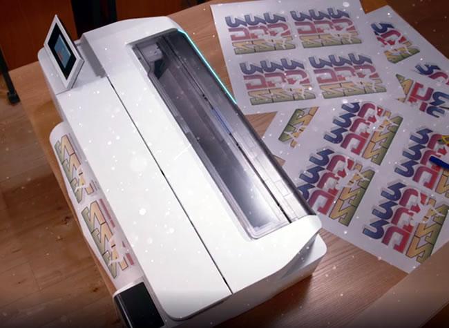Impresora para adhesivos, calcomanías y pegatinas